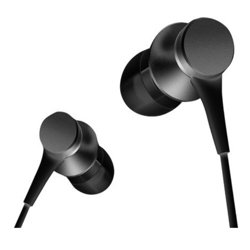 [Xiaomi] Piston4 Aluminium Earphone - Black