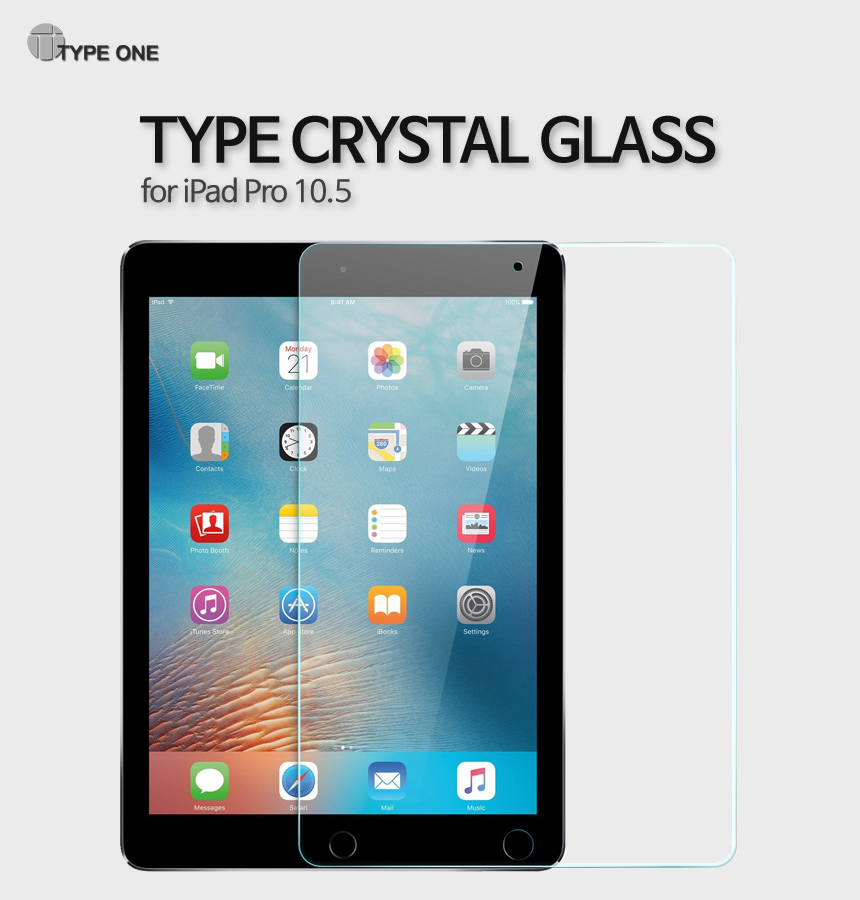 [TYPEONE] TYPE CRYSTAL GLASS for iPad Pro 10.5