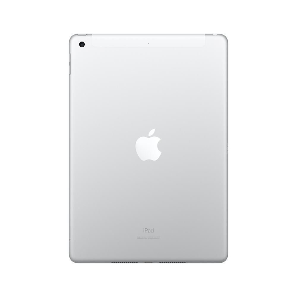 10.2형 iPad 2019년형 Wi-Fi+Cellular 32GB 실버 (MW6C2KH/A)